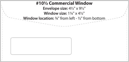10 Window Envelope Template | The Best Template Ideas