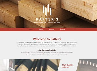 Woodworker Website Templates | GoDaddy