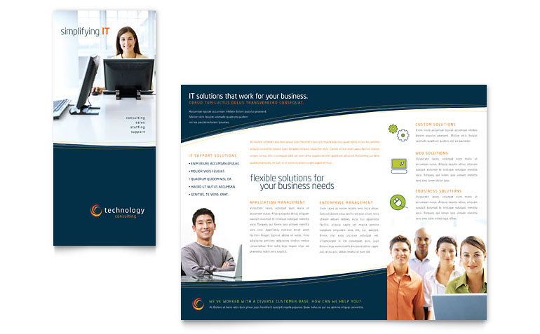 Free Tri Fold Brochure Template Download Word & Publisher Templates