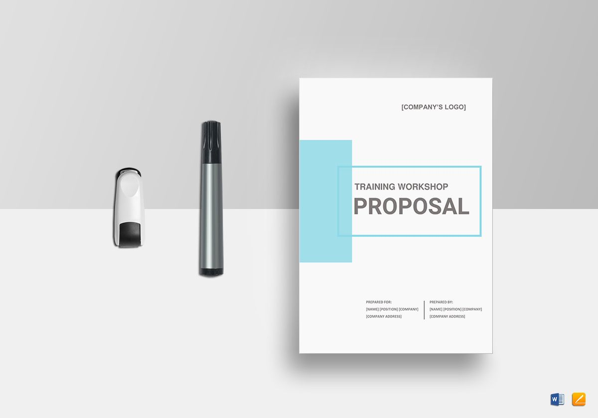 Training Workshop Proposal Template in Word, Google Docs, Apple Pages