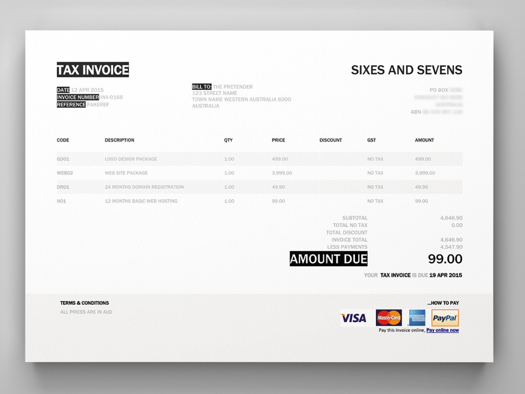 Xero Invoice Settingsssl1 Rare Template Word Templates Free
