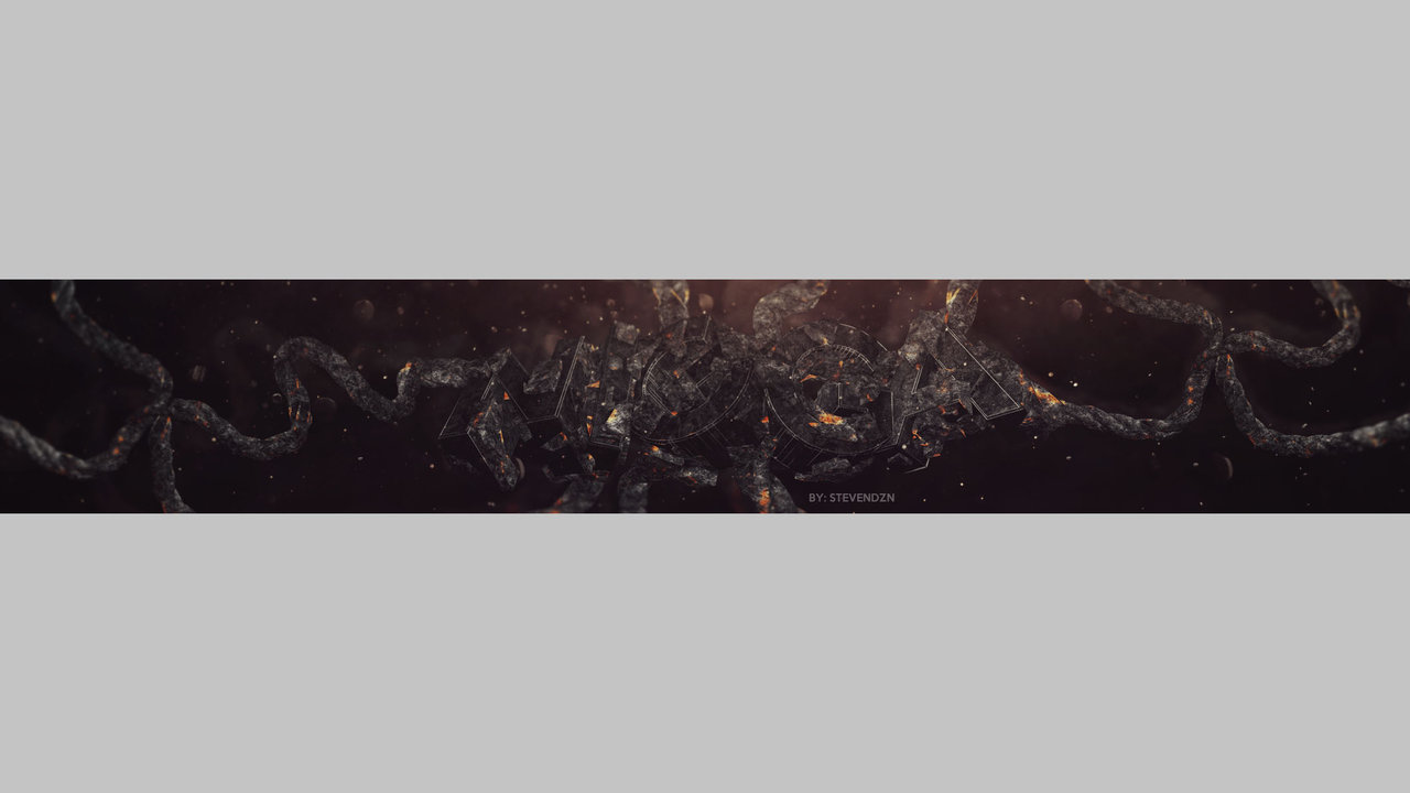YouTube Banner Template PSD Complete Rebrand *NEW 2015* YouTube