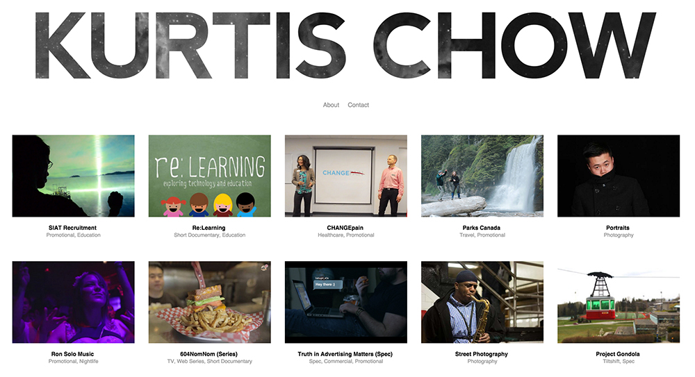 The Best Services for Creating an Online Video Portfolio