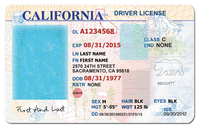 California Drivers License Template Download Wcc usa.org