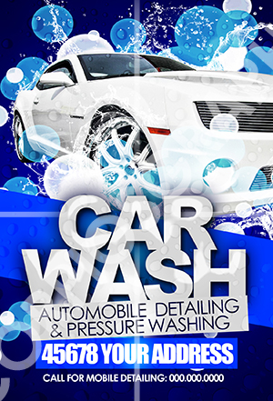 car wash flyer template Narco.penantly.co