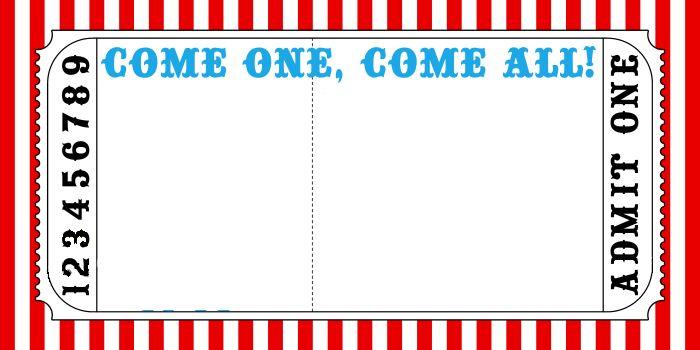 carnival ticket invitation template blank carnival tickets 30
