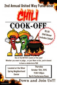 Chili Cook Off Poster Templates | PosterMyWall