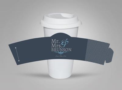 Coffee Sleeve Template   3D Paper   Pinterest   Coffee sleeve