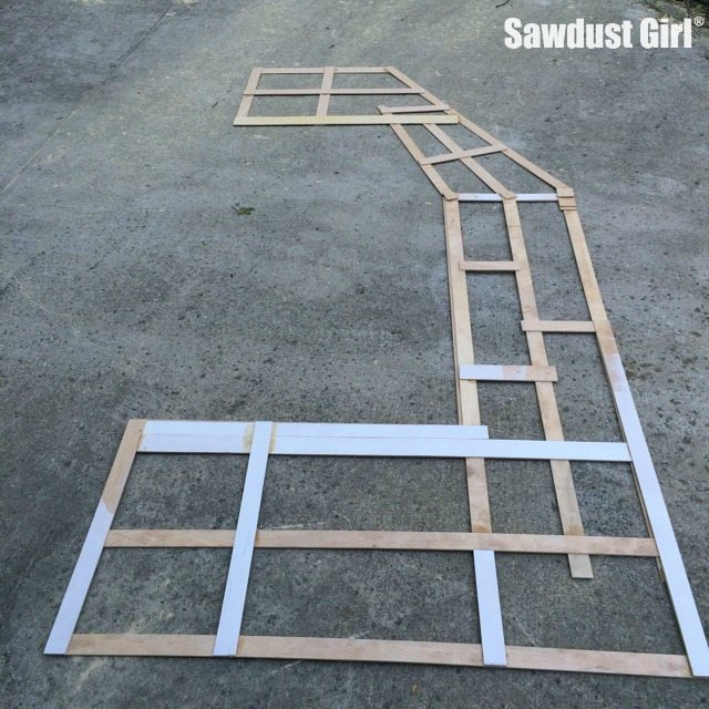How to make a Countertop Template Sawdust Girl®