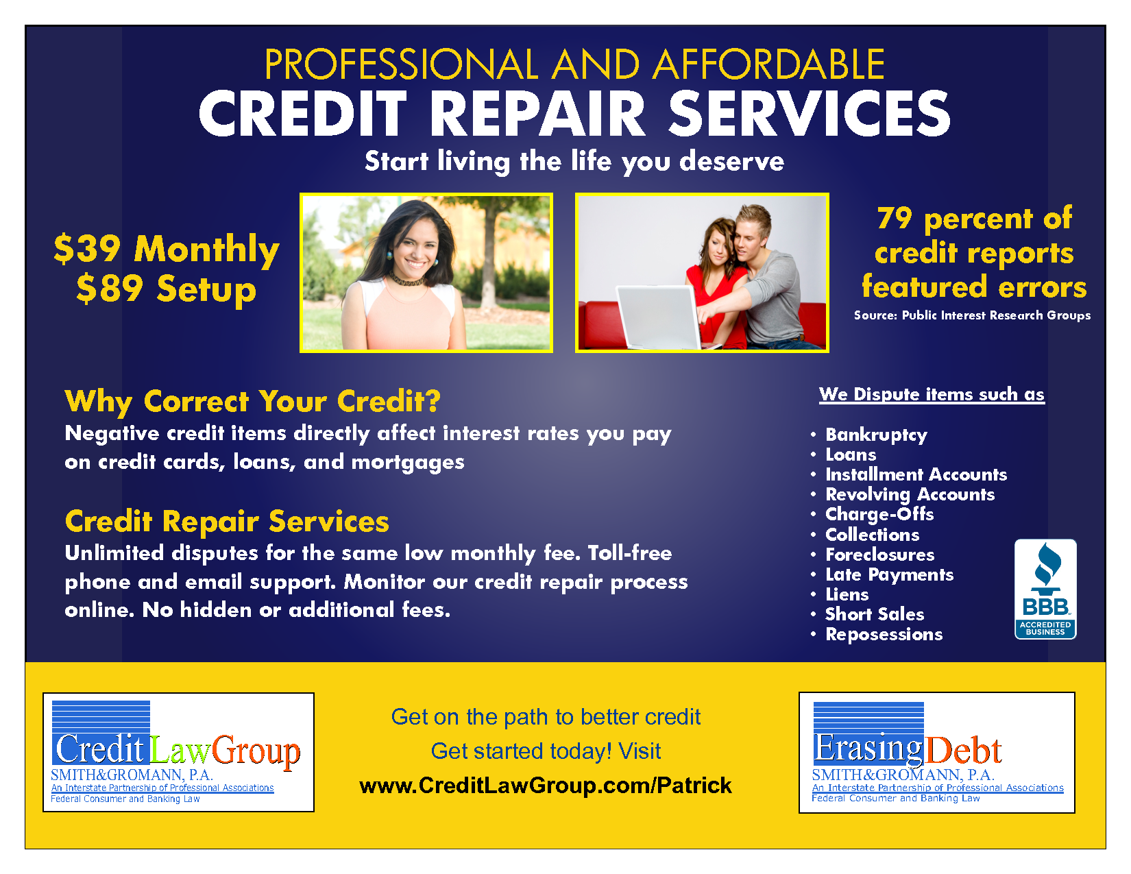 credit repair flyers Narco.penantly.co