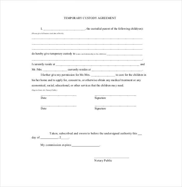 Custodian Agreement Template | gtld world congress