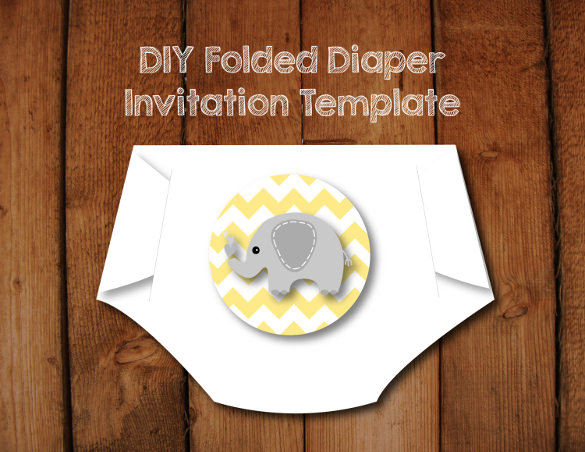 FREE Nappy Card DIY template | DIY & Crafts that I love | Diy