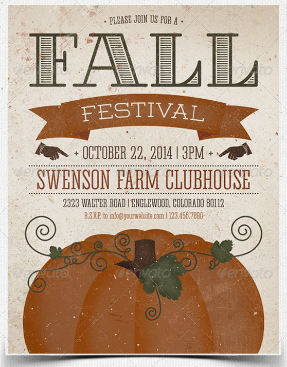 fall flyers templates free Narco.penantly.co