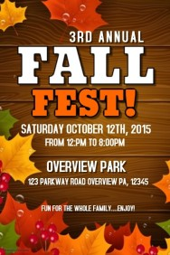 2,740+ Customizable Design Templates for Fall Festival | PosterMyWall
