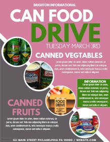4,330+ Customizable Design Templates for Food Drive | PosterMyWall