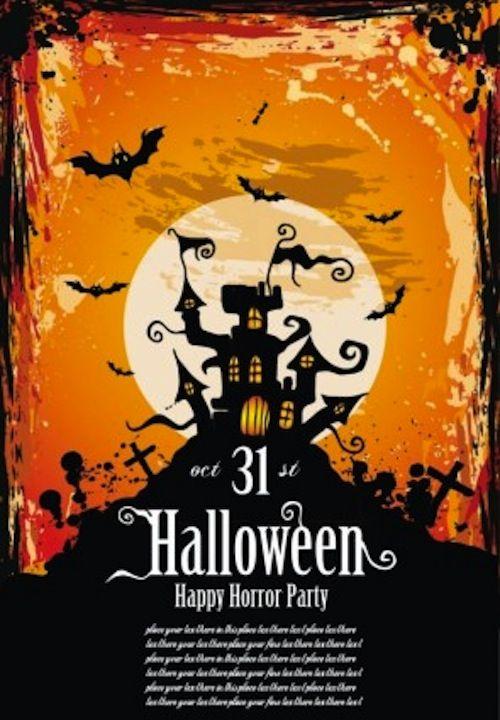 best free halloween flyer templates | Aspiritech | Pinterest