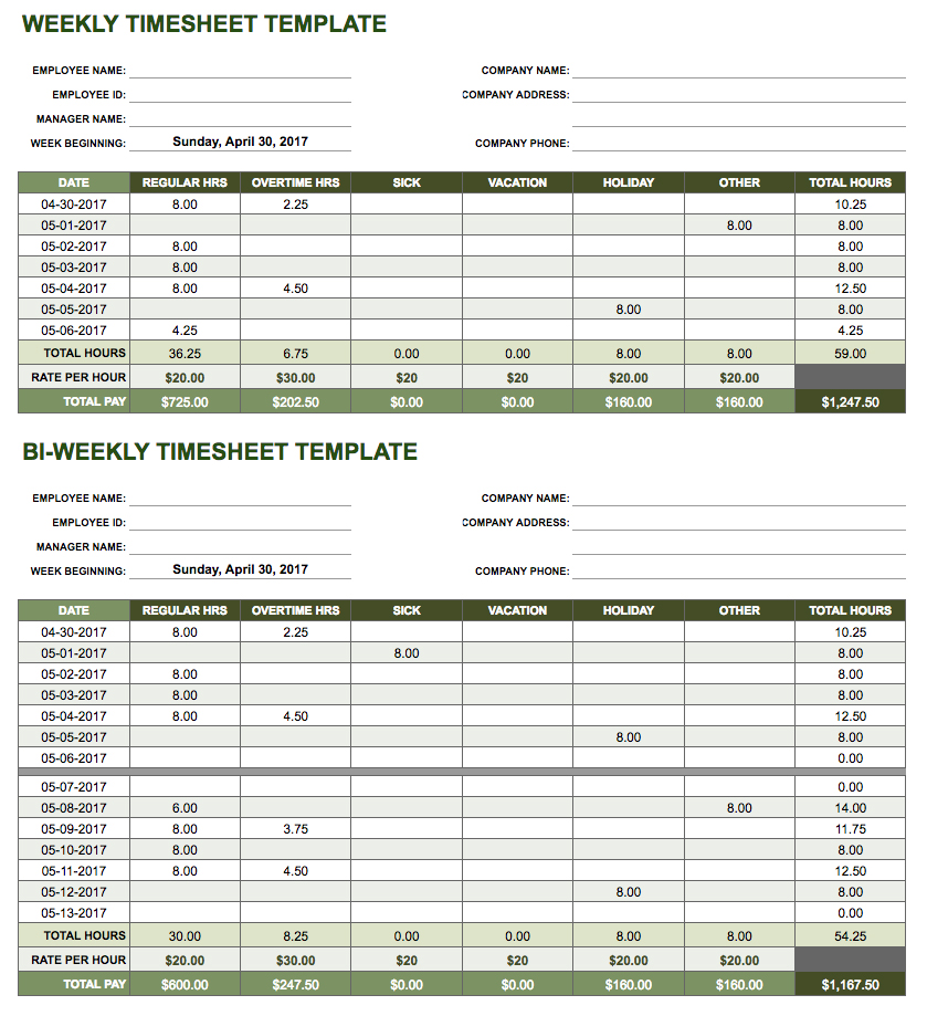 Google Spreadsheet Templates Timesheet On Excel Spreadsheet