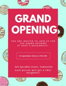 Create Grand Opening Flyers In Minutes! | PosterMyWall