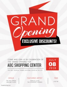 680+ Customizable Design Templates for Grand Opening | PosterMyWall