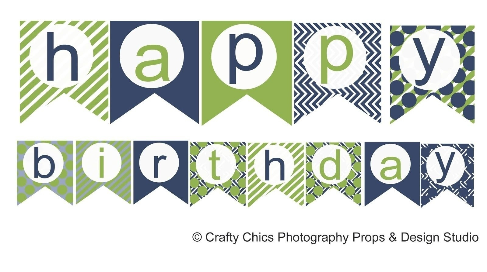 Happy Birthday Banner Template Printable | World of Label