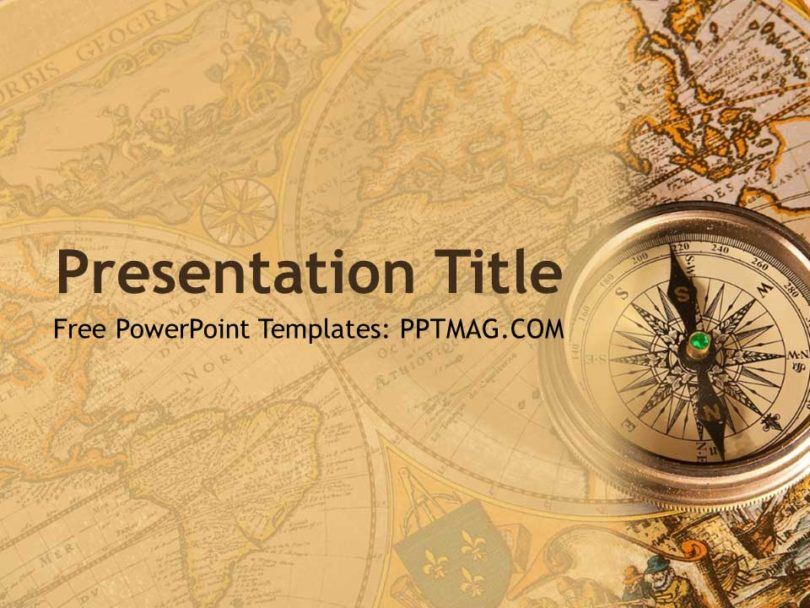 Free History PowerPoint Template PPTMAG