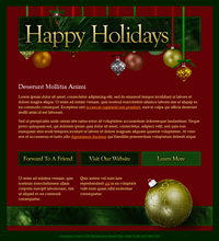 Holiday Email Templates   Email Newsletter Templates   Atlantic