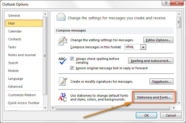 Create email templates in Outlook 2016, 2013 for new messages