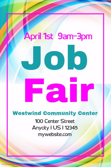 Job Fair flyer Template | PosterMyWall