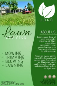 Customize 230+ Lawn Service Flyer Templates | PosterMyWall