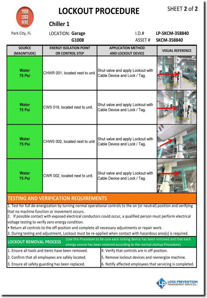 Lockout Tagout Procedure Development| LP Management Services
