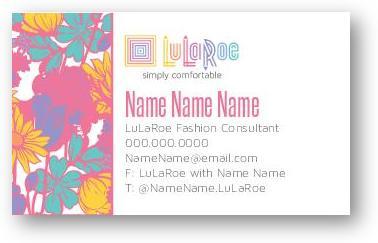 LuLaRoe Business cards Business Cards Custom Print