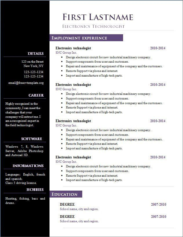 Resume Template Open Office Gallery Of Art Resume Template Open