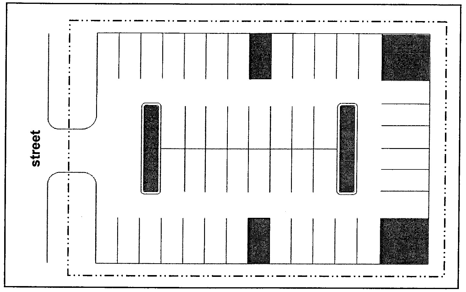 Parking Lot Layout Template Parking Lot Size For Cars Cars Image