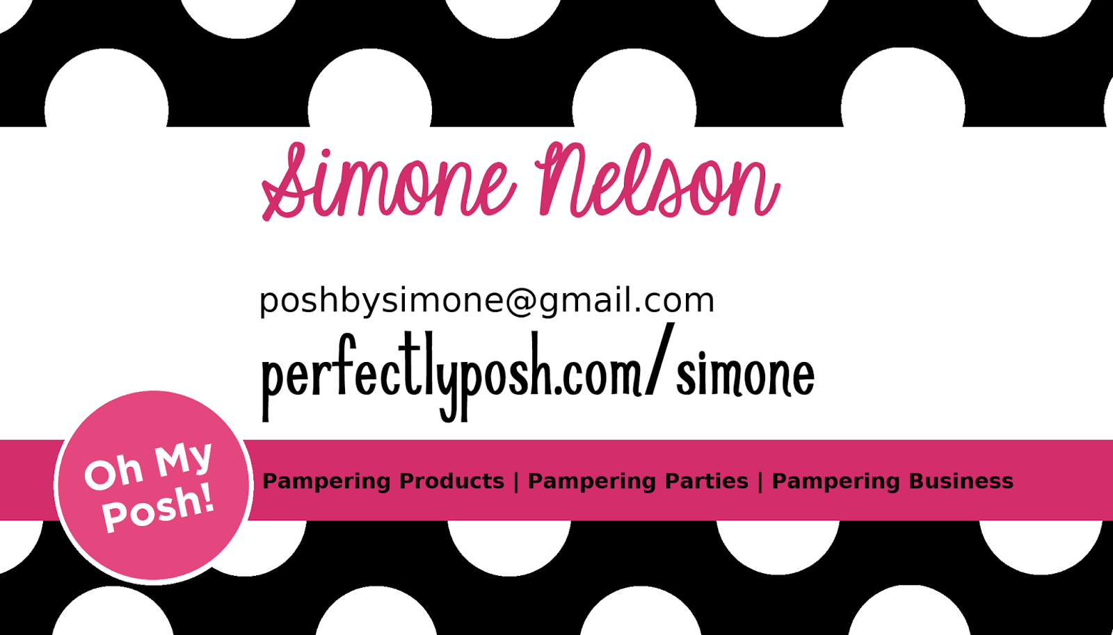 Posh by Simone: Making My Own Business Tools