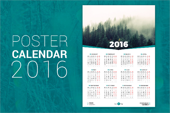 Photoshop Calendar Templates – Johndep Templates