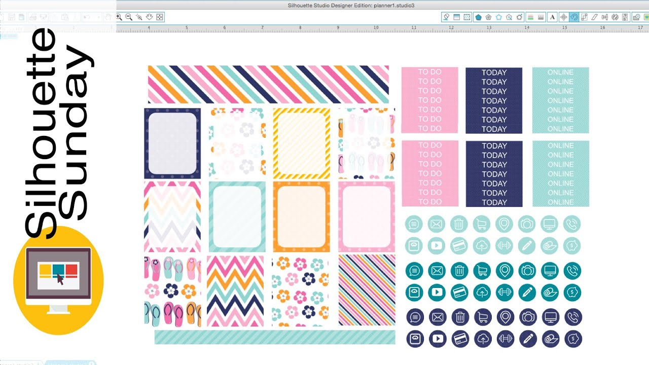 planner sticker template Narco.penantly.co