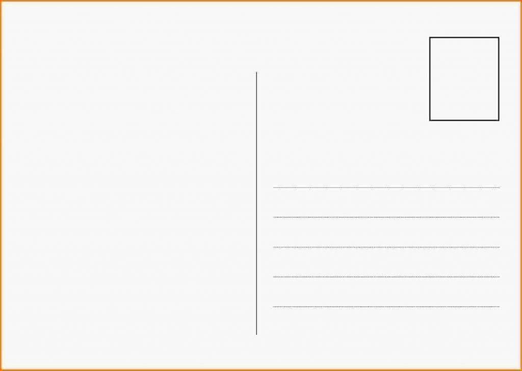 Postcard Template Google Docs | Professional Template
