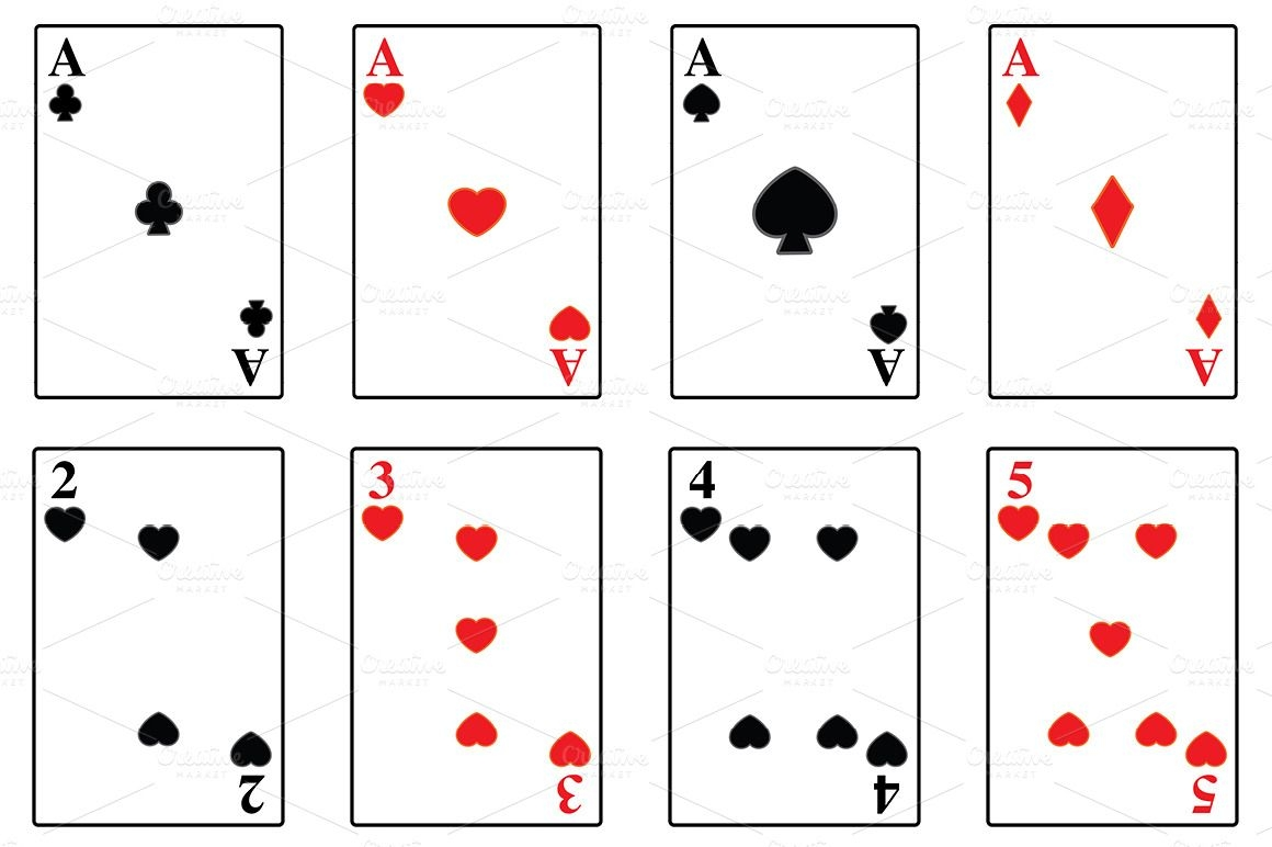 Playing Card Deck Template Throughout Printable Playing Card
