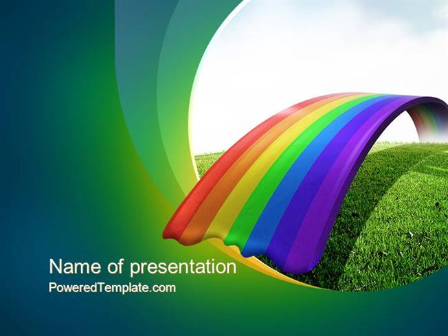Free Rainbow PowerPoint Template Download Free PowerPoint PPT