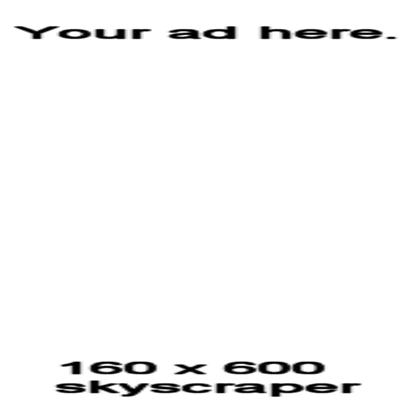 ROBLOX Skyscraper Ad Template Roblox