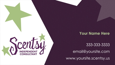 SBCD Inspirational Scentsy Business Card Template Bmwf1blog.com