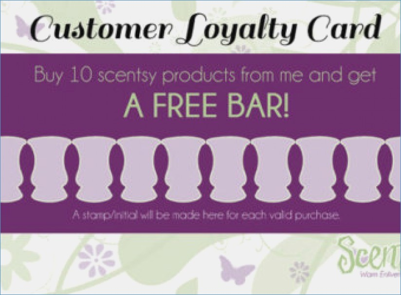 Scentsy Business Card Template Fantastic Scentsy Business Card