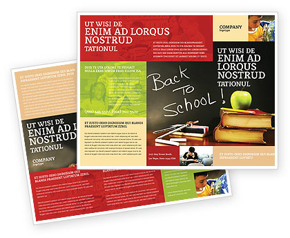 Back To School Brochure Template Design and Layout, Download Now