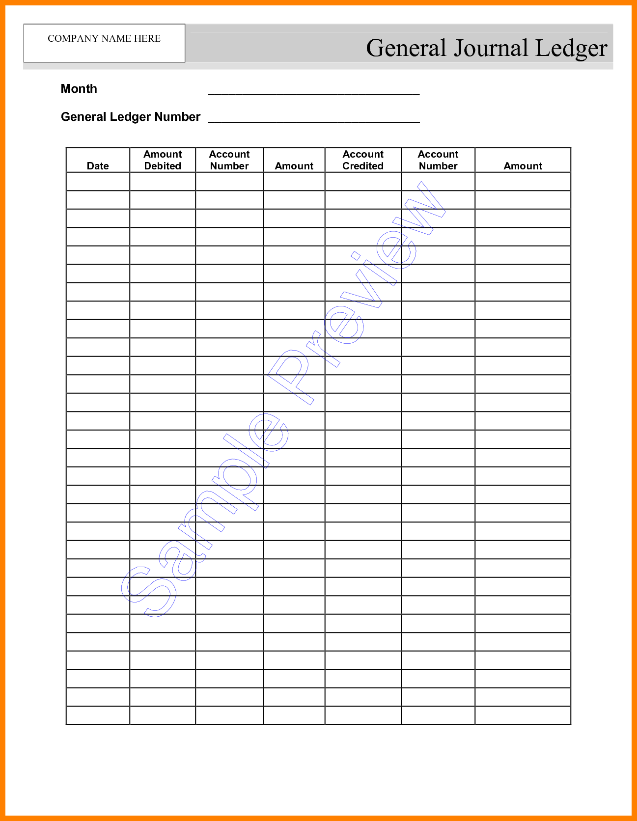 blank self employment ledger sheets Google Search | Concepts