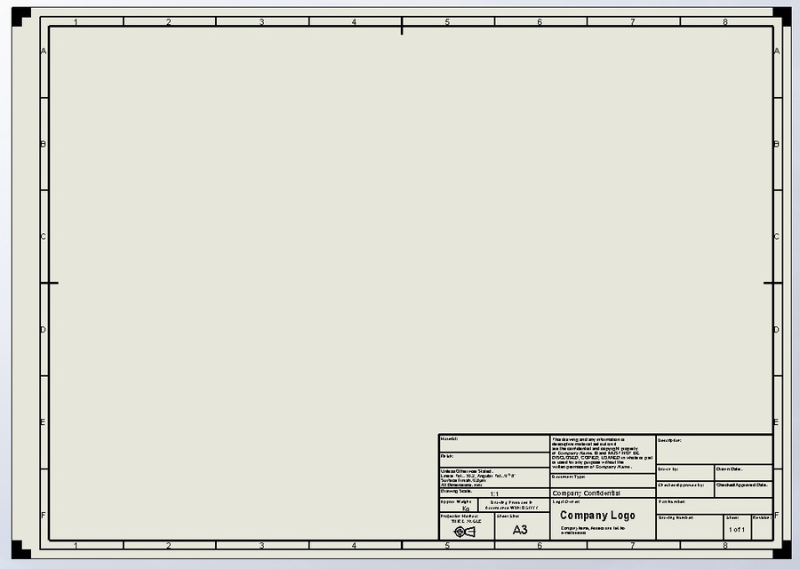 Which is Which? Drawing Template vs Sheet Format in SOLIDWORKS