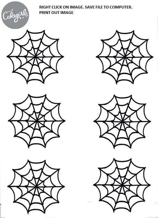 Spooky Spider Web Cupcake How To   Cakegirls