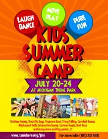 1,900+ Customizable Design Templates for Summer Camp Flyer