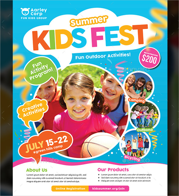 sports camp flyer templates summer camp flyer templates 43 free
