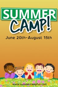 1,890+ Customizable Design Templates for Summer Camp Poster
