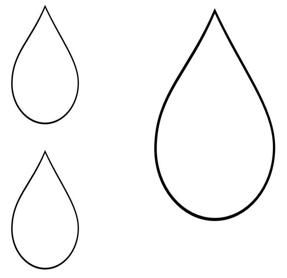 Printable Teardrop Template 21 teardrop template | Art | Pinterest